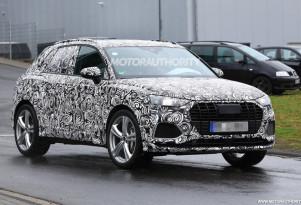 2020 Audi SQ3 spy shots - Image via S. Baldauf/SB-Medien