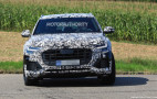 2020 Audi SQ8 spy shots and video