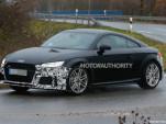 2020 Audi TT facelift spy shots- Image via S. Baldauf/SB-Medien
