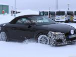 2020 Audi TT Roadster facelift spy shots - Image via S. Baldauf/SB-Medien