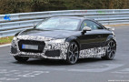 2020 Audi TT RS spy shots and video