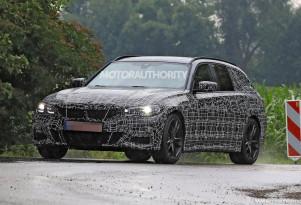 2020 BMW 3-Series Sports Wagon (Touring) spy shots – Image via S. Baldauf/SB-Medien