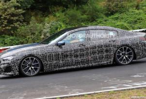 2020 BMW 8-Series Gran Coupe spy shots - Image via S. Baldauf/SB-Medien