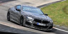 2020 BMW 8-Series spy shots - Image via S. Baldauf/SB-Medien