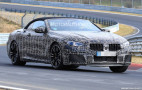 2020 BMW M8 Convertible spy shots