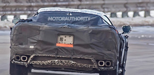 2020 Chevrolet Corvette (C8) spy shots - Image via S. Baldauf/SB-Medien