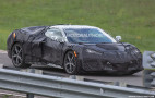 Report: mid-engine C8 Corvette to get flat-crank 600- and 800-hp V-8s, 1,000-hp AWD hybrid version, but no manual