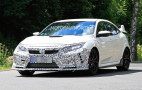 2019 Honda Civic Type R spy shots