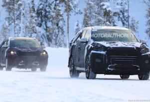2020 Hyundai Tucson facelift spy shots - Image via S. Baldauf/SB-Medien