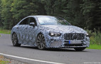 2020 Mercedes-AMG CLA35 spy shots