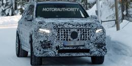 2020 Mercedes-AMG GLS63 spy shots - Image via S. Baldauf/SB-Medien