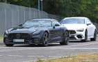 2020 Mercedes-AMG GT spy shots and video