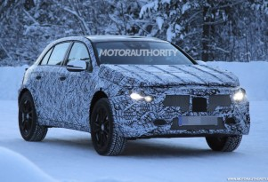 2020 Mercedes-Benz GLA spy shots - Image via S. Baldauf/SB-Medien