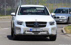 2020 Mercedes-Benz GLC Coupe spy shots