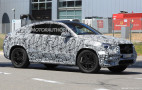 2020 Mercedes-Benz GLE Coupe spy shots