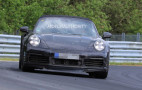 2020 Porsche 911 Turbo Cabriolet spy shots and video