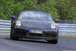 2020 Porsche 911 Turbo Cabriolet spy shots