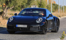 2020 Porsche 911 Turbo test mule spy shots - Image via S. Baldauf/SB-Medien