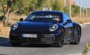 2020 Porsche 911 Turbo test mule spy shots - Image via S. Baldauf/SB-Medien