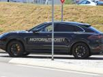 2020 Porsche Cayenne coupe spy shots - Image via S. Baldauf/SB-Medien