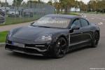 2020 Porsche 'Mission E' electric sedan spy shots