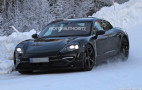 2020 Porsche Mission E spy shots and video