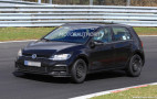 2020 Volkswagen Golf spy shots