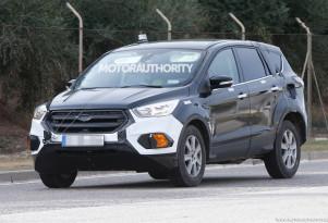 2021 Ford Escape (Kuga) test mule spy shots - Image via S. Baldauf/SB-Medien