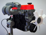 3D printed inline-4 engine