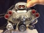 45 cc model V-8 engine