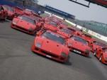 40 Ferrari F40s celebrate the car's 20th birthday in 2007
