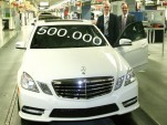 500,000th W212 E Class to roll off the line at Mercedes' Sindelfingen plant