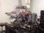 828-cubic-inch Ford V-8 dyno test