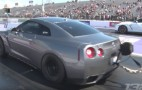 This 1,700-hp Nissan GT-R has a trick to stage properly at the drag strip