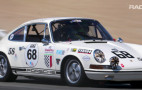 Patrick Long piloting a 1968 Porsche 911 T/R at Laguna Seca is vintage racing magic