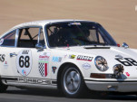 A 1968 Porsche 911 T/R is driven around Mazda Raceway by Patrick Long