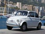 A 1971 Fiat 500, part of Prince Ranier III's collection