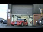 A 2012 Morgan Plus 8 rolls out of the Malvern factory