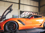 A 2019 Chevrolet Corvette ZR1 has hit the dyno