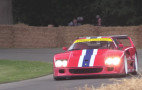 Watch a Ferrari F40 LM make noise at the Goodwood Festival of Speed