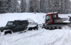 Turns out snow can conquer a Mercedes-AMG G63 6x6