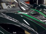 A Koenigsegg Agera R in the paint process