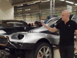 A look at the Koenigsegg One:1's rear wing