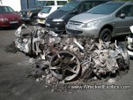 A Moment Of Silence: Ferrari 458 Italia Utterly Destroyed By Fire--image via Wrecked Exotics