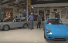 A pair of classic 911s stop by Jay Leno's Garage