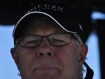 A pensive Don Halliday at Las Vegas - Anne Proffit photo