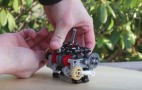 Behold the working 6-speed gearbox made of Legos