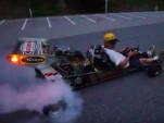 A turbocharged go-kart producing 340 horsepower