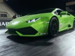 A twin-turbocharged Lamborghini Huracan making 1,493 whp