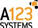 A123 logo